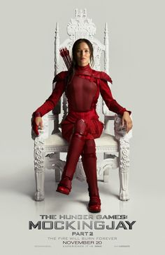 Pin for Later: All the Mockingjay — Part 2 Posters Warn You That Nothing Can Prepare You For the End Jennifer Lawrence as Katniss In President Snow's throne . . . ?