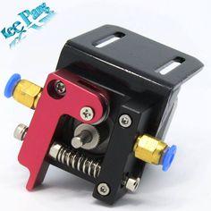 Improved Version Printer Parts Reprap Makerbot MK8 Full Metal Aluminum Alloy Bowden Extruder for 1.75MM Filament freeshipping