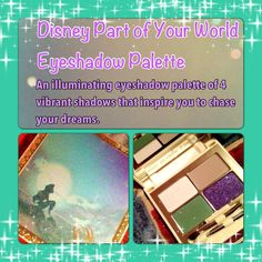 Disney Part of Your World Eyeshadow Palette. This palette is not something I would normally go for right away, but after testing out the colors I was in love. They deliver that perfect mermaid under the sea type of look. The color payoff is excellent, plus the shimmer is beautiful without being overbearing. This palette brings me back to those childhood days when I dreamt of being a princess. The packaging is absolutely adorable and the price is reasonable. One word of caution, it looks like…