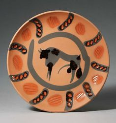 Picasso,  Taureau (Bull), 1957