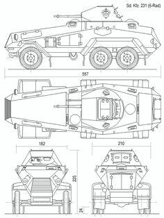 Sdkfz 231 6 rad