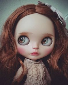 OOAK Custom Blythe Doll Milk Tea by STABLEHOUSE