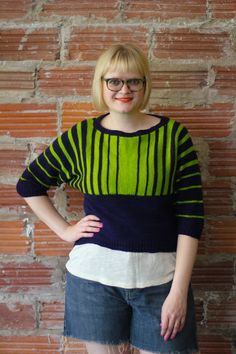 Koval knitting pattern by Allyson Dykhuizen for Holla Knits Summer 2015.