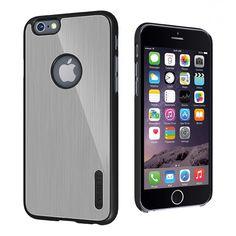 Cygnett iPhone 6 UrbanShield Case - Silver | Mobile Madhouse #Black #Silver #ToughCase #UrbanShield #Cygnett #iPhone6 #Apple #Iphone #AppleiPhone #PhoneCases #MobileMadhouse