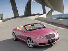 Pink Bentley-Continental-GTC