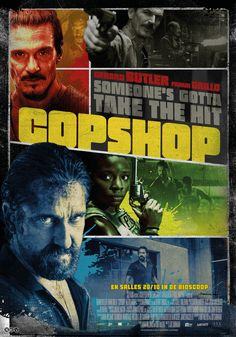 Click to View Extra Large Poster Image for Copshop Gerard Butler, The Conjuring, Keith Jardine, The Precinct, Mark Williams, Female Cop, Police Station, The A Team, Good Movies