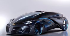 Chevrolet FNR Concept Is More Tron Than Tron Itself
