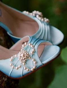 shoes shoes wedding shoes now that is something Blue.