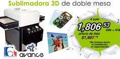 #SUBLIMA VARIOS ARTÍCULOS A LA VEZ con nuestra #SUBLIMADORA 3D ¡hoy en promoción de #BuenViernes!