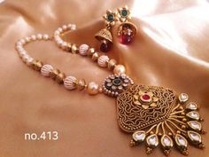 Shopo.in : Buy Ethnic Necklace Set online at best price in Ghaziabad, India