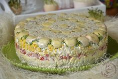 Appetizer Salads, Appetizers, Polish Recipes, Pie, Cooking Recipes, Vegetables, Food, Pies, Easy Meals