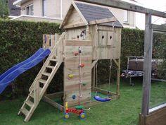 Backyard Playground, Backyard For Kids, Diy For Kids, Playhouse Outdoor, Outdoor Play, Outdoor Activities For Kids, Backyard Paradise, Kids Play Area, Play Houses
