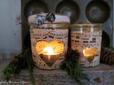 ...ultimissime dal forno...: 11♥ PICCOLE LANTERNE DI NATALE... WAITING FOR CHRI...