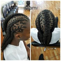 Loc braids <3