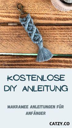 Diy Kits, Diy And Crafts, Diy Home Decor, Diys, Macrame Tutorial, Threading, Handarbeit, Creative