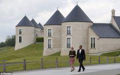 lough erne resort US President Barack Obama arrives at the Lough Erne golf resort where the G8 summit is