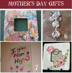 Mother's Day Gifts   5 - 8