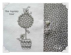 Embroidery pattern by Jenny of Elefantz