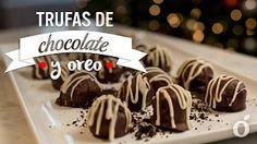 Trufas de chocolate y óreo