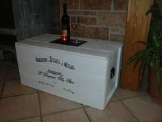 Truhe Frachtkiste Couchtisch Vintage Holztruhe Bank Tisch Shabby Kiste Landhaus
