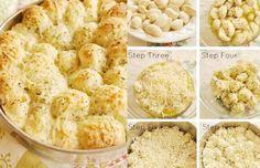 Garlic Cheese Pull Apart Bread