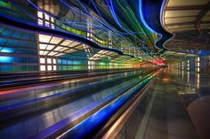 O'Hare International Airport, Chicago, USA Chicago Airport, Chicago Usa, O'hare International Airport, Future Buildings, My Kind Of Town, Photo Location, Pilgrimage, Amazing Architecture, Illinois