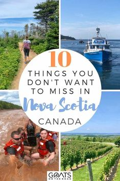 There are so many fun things to see and do in Nova Scotia. Whether you want adventure and tidal bore rafting or want a summer road trip along cape breton or just want to experience delicious seafood and wineries. Weve got the tips for you! Alberta Canada, Ottawa, Quebec, Pvt Canada, Visit Canada, Montreal, Nationalparks Usa, Ontario, Nova Scotia Travel