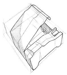 The Phone Cell sketch development - Sketching, speed sketching, drawing, render, biro, Product Design, Hans Ramzan, Student, University, Design, Creative, hansramzan.tk