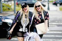 Cailli en Sam Beckerman tijdens New York Fashion Week - New York State Of Mind
