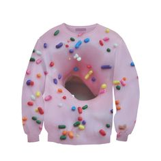 26 Ridiculously Amazing Sweatshirts You Can Actually Buy I want the donut one so badly!