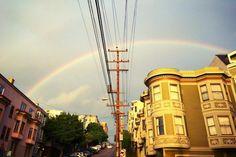 Monday Night's Rainbow in San Francisco Was Glorious [Slideshow] | 7x7