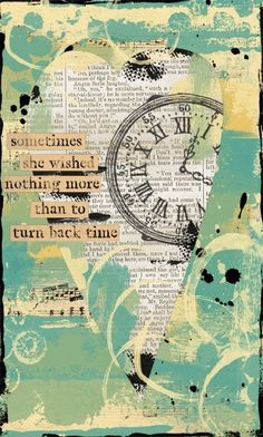 The colors...the messiness...the words...the clock being partially obscured...SCRUMDIDDLYUMPTIOUS!!