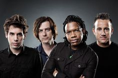 The old and new Newsboys  since 2005