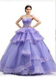 編み上げタイプ魅惑パープルドレス ロングドレス イブリングドレス