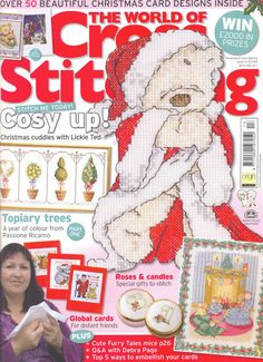 The World of Cross Stitching Issue 131 Christmas 2007  Saved