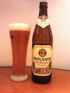 ! I´ve already drank this beer ! From Germany ! [Paulaner Hefe-Weissbier Naturtrüb - German Weizen - 5.5%abv]