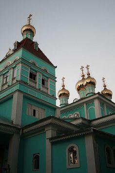 Russian Orthodox Church, Almaty, Kazakhstan