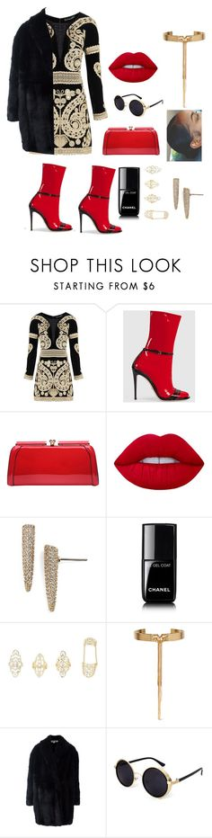 """""""Underworld"""" by lizziesusan on Polyvore featuring For Love & Lemons, Gucci, MKF Collection, Lime Crime, Eddie Borgo, Chanel, Charlotte Russe and Alexander McQueen"""