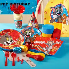 Tom and Jerry Birthday Party. This site has everything you need!