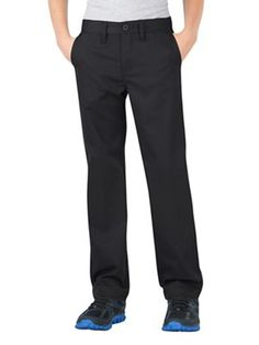 3b86f70903b Dickies KP701 Boys  Flex Slim Fit Straight Leg Ultimate Khaki Pant