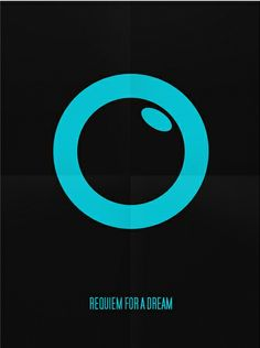 Requiem for a Dream ~ Minimal Movie Poster by Tomasz Gorski Minimal Movie Posters, Cool Posters, Film Posters, Requiem For A Dream, Alternative Movie Posters, Album Book, Minimalist Poster, Classic Films, Book Covers