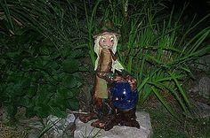 Socha - vodník s lampou na sviečku - 6936043_
