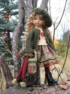 "~WOODLAND WHIMSY!~by Tuula fits Dianna Effner 13"" Little Darling to a ""t""!"