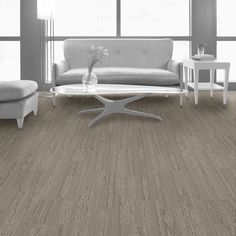 Interface Posh - Skinny Plank Tile Carpet (Color: Corfu)