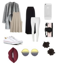 """""""❤️❤️"""" by rawrlol101991 ❤ liked on Polyvore featuring Chicwish, Jacques Vert, Dorothy Perkins, Converse, Matthew Williamson, Kate Spade and Lime Crime"""
