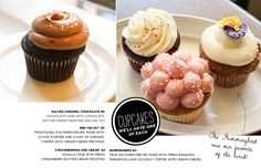 The Everygirl Travels to Boston // South End Buttery. Cupcakes? We'll take one of each!