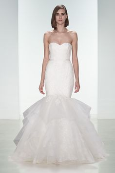 """Aiden"" by Amsale Nouvelle available at Carrie Karibo Bridal www.carriekaribo.com #carriekaribobridal"