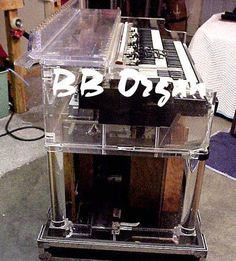 Prince Hammond B3 Organ Clear Plexy Lucite from Paisley Park