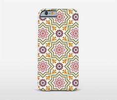 Pattern Phone Case Ceramic Tiles iPhone SE Samsung by Macrografiks