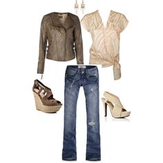 casual vs. chic, created by jessica-stubbs on Polyvore